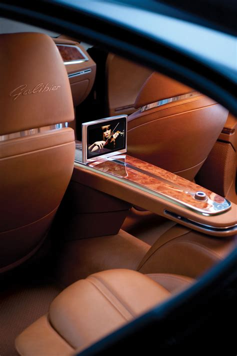 Bugatti Galibier Interior