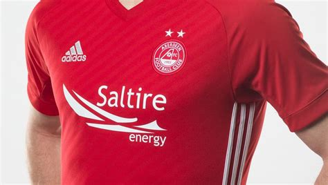 Aberdeen 2017/18 Adidas Home Kit | 17/18 Kits | Football ...