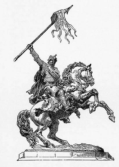 Conqueror William Clip Illustration Illustrations Engraving Vector