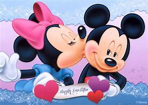 postmarked with love.: love, mickey & minnie mouse