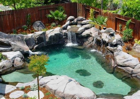 petit bassin de jardin 1001 mod 232 les spectaculaires de piscine avec cascade
