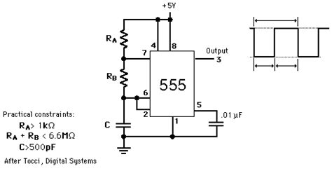 Astable Timer Frequency Problem All About Circuits