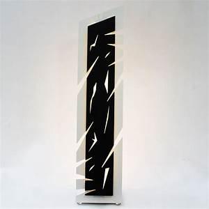 Lampe A Poser Design : lampe poser design blanc noir lampe de chevet moderne led ~ Teatrodelosmanantiales.com Idées de Décoration