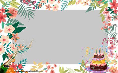 crea cornici crea cartoline personalizzate con foto compleanno