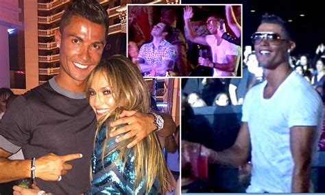 Cristiano Ronaldo And Kim Kardashian Enjoy Jennifer Lopez
