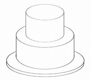 Wedding Cake Template