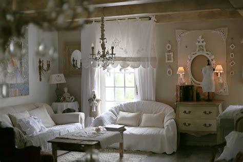 chambre style romantique salle de bain romantique chic