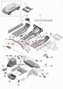 Porsche Macan  2014   Floor Parts