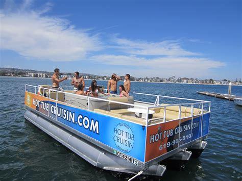 Pontoon Boat Rental Mission Bay by 399 For Three Hour Tub Cruisin Boat Rental San