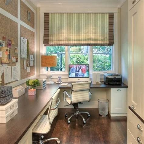 Great Home Office Layout For A Small Narrow Room But With