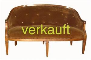 Kleines L Sofa : verkauft kleines l xvi sofa edeltr del antike m bel ~ Michelbontemps.com Haus und Dekorationen