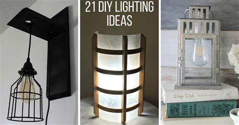 21 diy lighting ideas to brighten your home a budget the handyman s