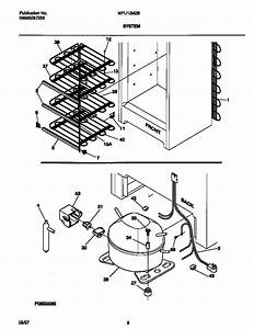 Universal  Multiflex  Frigidaire  Upright Freezer Wiring Diagram Parts
