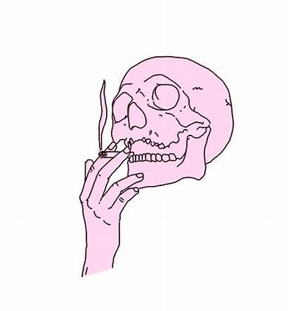 Grunge Aesthetic Sad Transparent Gifs Smoke Badass