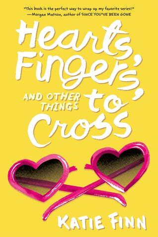hearts fingers     cross broken hearts revenge   katie finn reviews