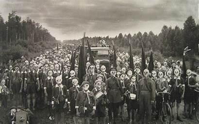 History Soviet War Gas Mask Wallpoper Masks