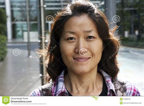 korean woman stock photo image