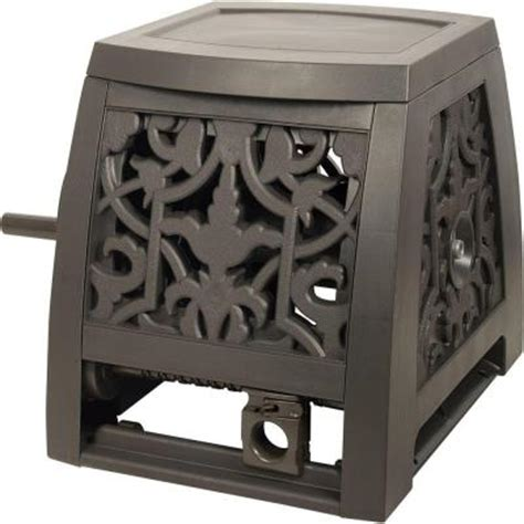 ames decorative hose reel box 2391375nl the home depot