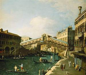 The Grand Canal Venice Painting by Canaletto