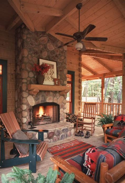 pictures of outdoor living spaces with fireplace the outdoor living spaces of the ellijay cabin help to make this a cabin to be enjoyed year