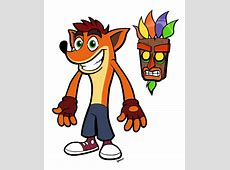 Crash Bandicoot and Aku Aku by Anioco on DeviantArt