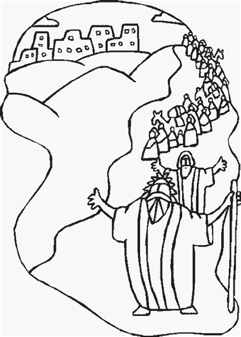 moses coloring pages  kids updated