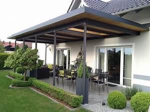 Terrasse Mit überdachung : berdachung terrasse holz bt12 hitoiro ~ Whattoseeinmadrid.com Haus und Dekorationen