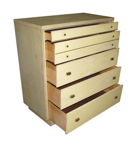 1950s Blonde Chest Of Drawers Olde Good Things