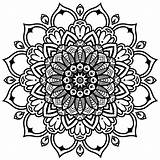 Mandala Coloring Modern Mandalas Babadoodle Infinity Colouring Intricate Rectangle Adult Designs Printable Template Downloadable sketch template