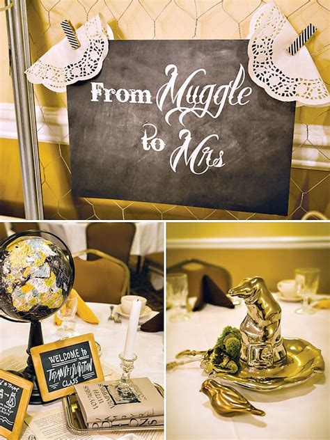 Harry Potter Bridal Shower Ideas by Bridal Shower Theme Ideas Squared