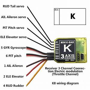 2020 Kbar Gyro Mini K Bar Yellow Blue K8 Three Axis