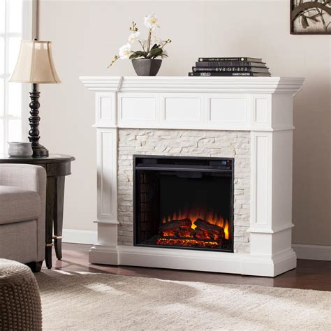 amesbury    corner convertible electric fireplace