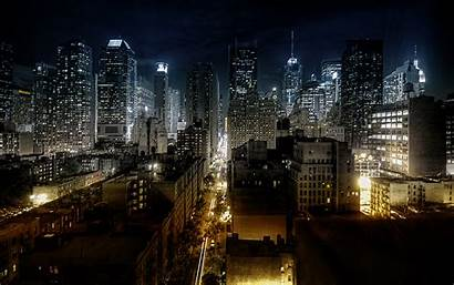 Night Cityscape Wallpapers Cities Cityscapes Backgrounds Noche