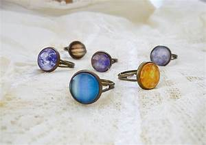 Planet Ring, Solar system ring, Vintage Planet Ring, Earth ...