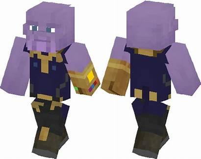 Thanos Skin Minecraft Skins Movies Minecrafthub