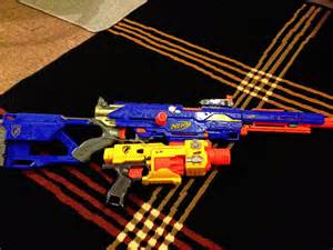 Big Blue Nerf Guns