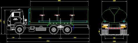 tanker truck water  irrigation  drinking dwg block