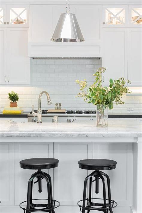 Super White Quartzite Countertop   Transitional   Kitchen