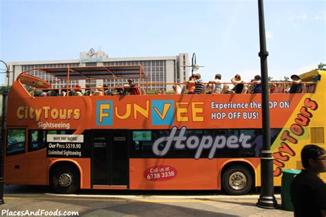 Hop On Hop Off Funvee Singapore City Tours Sightseeing Bus
