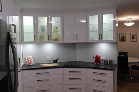 slate grey  gloss white galley kitchen kitchen
