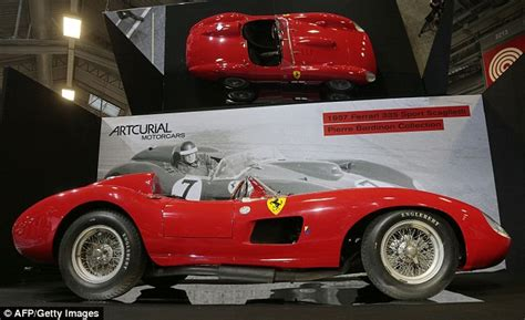 It had a v12 engine of 4,023.32 cc (245.518 cu in) and featured twin overhead camshafts, two valves per cylinder and six weber 44 dcn carburettors giving a maximum power of 390 horsepower at 7400 rpm. Lionel Messi 'was mystery buyer of Ferrari 335 S Spider Scaglietti' at Paris auction   Daily ...