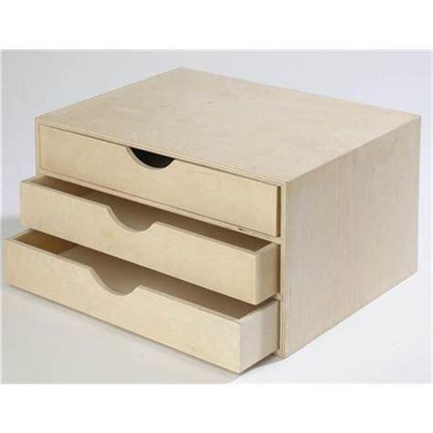 casier de rangement bureau bois loisirs créatifs