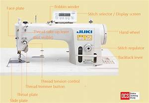 Different Parts Of A Sewing Machine  With Pictures