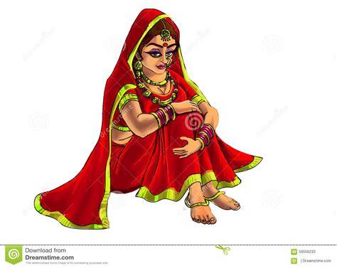 Bride Clipart Indian Wedding