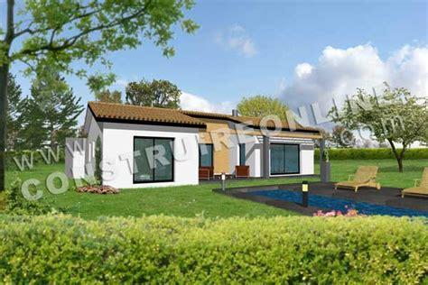 modeles de maisons modernes plan de maison moderne toscan
