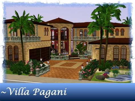 decorative sims luxury homes mod the sims villa pagani a mediterranean luxury home