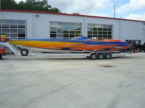 Cigarette Boat In Rough Water by Cigarette 46 Rough Rider Boats For Sale