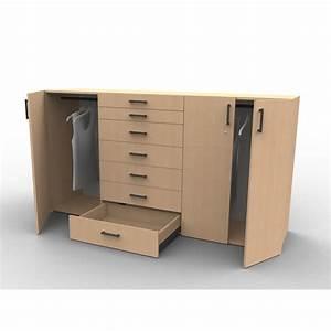 Commode Sous Pente : commode sur mesure mod le structure ~ Edinachiropracticcenter.com Idées de Décoration