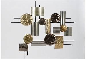 Decoration Murale Metal Design : d cor mural en m tal diez amadeus 25734 ~ Teatrodelosmanantiales.com Idées de Décoration