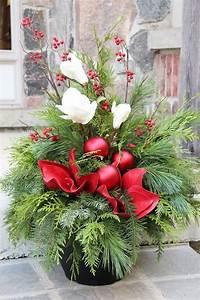Weihnachtsdeko Draußen Basteln : 1001 ideen f r weihnachtsgestecke zum basteln grab ~ A.2002-acura-tl-radio.info Haus und Dekorationen